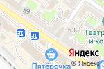 Схема проезда до компании Магазин головных уборов и кожгалантереи в Армавире