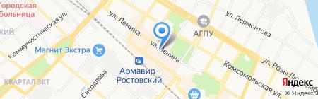 РосгосстрахБанк на карте Армавира