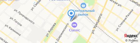 Тёма на карте Армавира