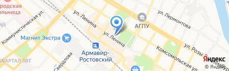 Банкомат Сбербанк России на карте Армавира