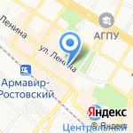 Армавирский театр драмы и комедии на карте Армавира