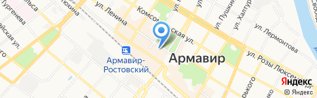 Театр драмы и комедии им. Луначарского на карте Армавира