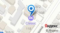 Компания CLASSIC на карте