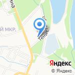 Автостоянка на карте Армавира