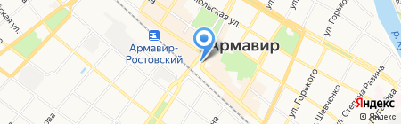 Сбербанк России на карте Армавира