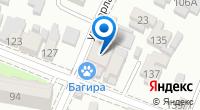 Компания Багира на карте