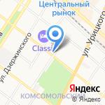 Тургеневский на карте Армавира
