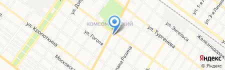 Банкомат КБ Центр-инвест на карте Армавира