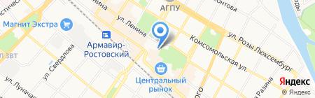 Банкомат МТС-банк на карте Армавира