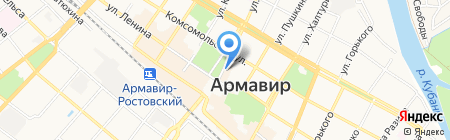 РОСТЗОЛОТО на карте Армавира