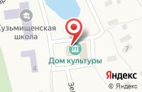 Схема проезда до компании Почтовое отделение в Кузьмищах