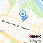 Фонд социального страхования РФ на карте Армавира