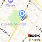Волга1 на карте Армавира