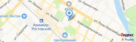 Excelsior на карте Армавира