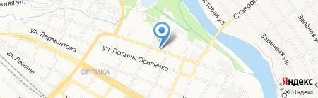 Восток на карте Армавира
