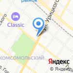 Армавирский юридический техникум на карте Армавира