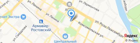 Фемида на карте Армавира