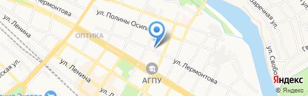 Адвокатский кабинет Люфт Е.В. на карте Армавира