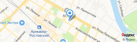 КОНСУЛЬТАЦИОННЫЙ ЦЕНТР на карте Армавира