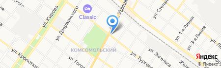 Армавирский Православно-Социальный институт на карте Армавира