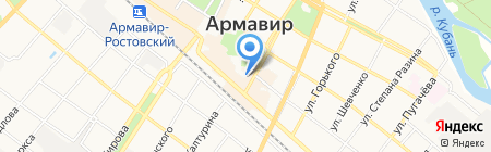 Балахоновский мясокомбинат на карте Армавира