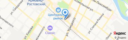 Салон кованных изделий на ул. Мира на карте Армавира