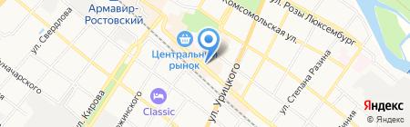 Мебельный салон на карте Армавира