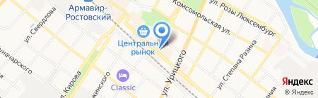 ТИП ТОП на карте Армавира