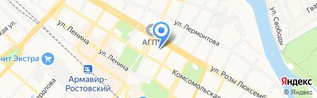 Ювелирная мастерская на карте Армавира