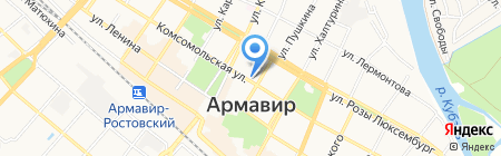 Учебный центр Кубани на карте Армавира