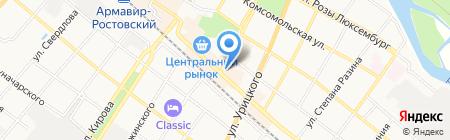 Айс на карте Армавира