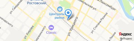 БУМ на карте Армавира