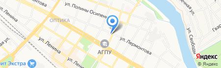 Городская поликлиника №1 на карте Армавира