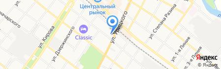 Торговый павильон на карте Армавира