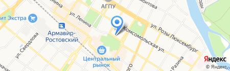 Лавина на карте Армавира
