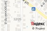 Схема проезда до компании ТВС-Сервис в Заветном