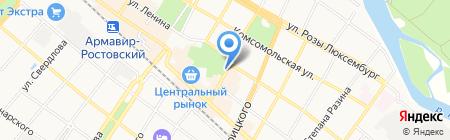 Сотовик на карте Армавира