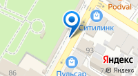 Компания Перышко на карте