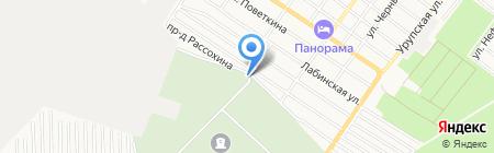 Отдел по вопросам похоронного дела Администрации г. Армавира на карте Армавира