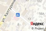 Схема проезда до компании Юником в Армавире