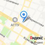 Адвокатский кабинет Черкашиной Е.Б. на карте Армавира