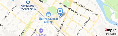 Адвокатский кабинет Данилова А.А. на карте Армавира