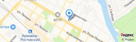 Союз Армян России на карте Армавира