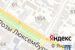 Схема проезда до компании Молодежное в Армавире