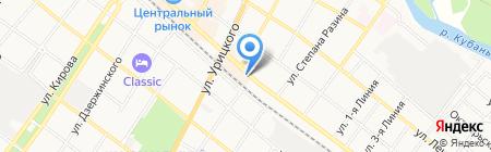 Пласт-Сервис на карте Армавира