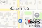Схема проезда до компании Рачная №1 в Заветном