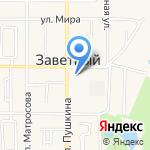 Владислава на карте Армавира