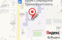 Схема проезда до компании Городская поликлиника №1 в Заветном