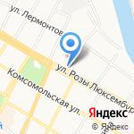 Армавирская газета на карте Армавира