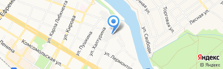 Сладкий остров на карте Армавира
